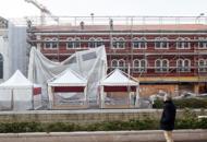 Via Poerio, restauro terminato | FotoRiconsegnata facciata ex convento