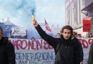 Generazione ribelle, giovaniin piazza contro il sindaco | Foto