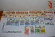 Rapina in banca, «caso» risoltodalla Polizia in 15 minuti | Foto