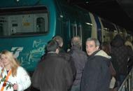 Guasto al locomotore del trenoIn 250 bloccati al freddo per sei ore