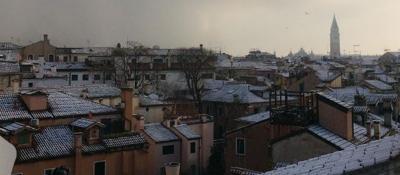 Torna la neve, Venezia imbiancata