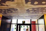 Crepe nel soffitto delle auleRischio crollo, chiude un asilo   Foto