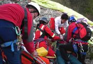 Nei boschi a far legna, muoreanziano trovato dal soccorso alpino