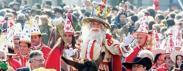 Maschere, carri, sfilate e gnocchiTutte le feste di Carnevale