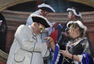 Carnevale di Venezia Proposta di nozze dal palco
