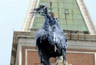 Carnevale, in 80mila a Venezia Brugnaro: «Tutto ha funzionato» Volo dell'Aquila e FOTOGALLERY