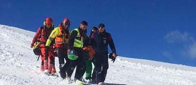 Precipita dal ghiacciaio Cattedralegrave alpinista monegasco