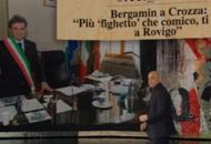 Crozza-Bergamin, nuovo scontroFinto collegamento da Rovigo |Video