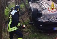 Due incidenti sulla RomeaCinque persone ferite