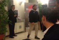 Premio all'allenatore del RovigoE lui ringrazia con la «Haka» | Video