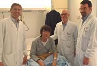 Turista precipita da otto metri  Volto ricostruito all'ospedale Angelo