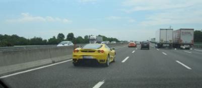 Lamborghini a 230 km/h sull'A4,Stangata della Polstrada, maxi-multa