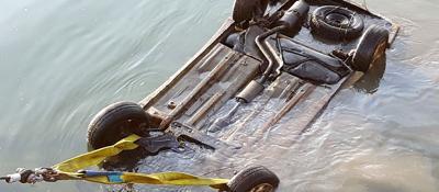 Resti umani nell'auto ripescataEra di un padovano scomparso