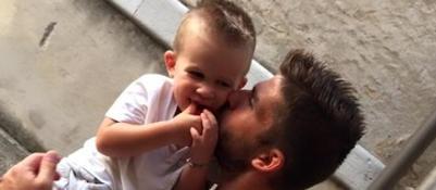Il dramma del calciatore FavretE' morto Achille, il figlio di tre anni
