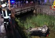 Schianto a Marostica, auto si rovesciaFerita una donna  29enne | Foto