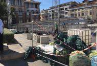 Alpini: adunata, l'ultimo lascito Trentanove tonnellate di rifiuti