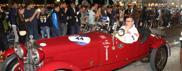 Millemiglia, accoglienza in Bra |FotoLe auto in Prato della Valle a Padova