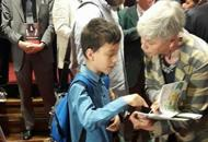 Dalla Puglia fino al Premio Campiello Vito, 11 anni, sogna di fare lo scrittore