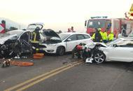 Schianto a Marostica, tre feriti In corso i lavori della Pedemontana
