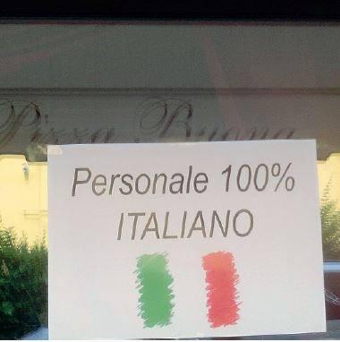 In questo ristorante non lavorano stranieri il comune - Professione casa mestre ...