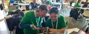 Studentessa di Treviso inventai «Robottini ricicloni»
