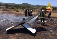 Precipita ultraleggero in Sardegna,morti carbonizzati due veronesi