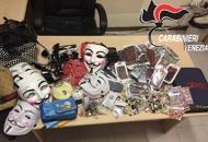 Blitz dei carabinieri: sequestratioltre 20mila prodotti falsi