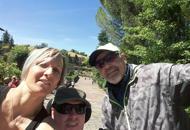 Riccardo corona anche questo sogno,un selfie con il suo idolo Vasco   Foto