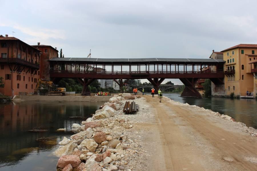 Bassano e ponte degli alpini gli esperti il progetto non for Piani di fondazione del ponte