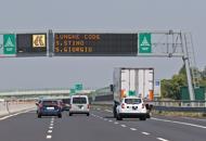Esodo, giornata da bollino rossoTraffico intenso in autostrada