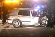 Auto si schianta contro un muro Quattro ragazzi feriti, uno gravissimo