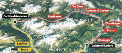 Belluno, treno delle Dolomitispunta un terzo possibile percorso