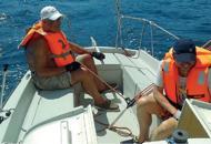 Carlo, lo skipper non vedente «Solco il mare ascoltando il vento»