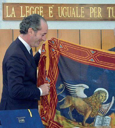 Zaia bandiera veneta non cerco la rissa difendo questa for Cerco ufficio a roma