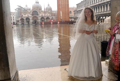 Piazza San Marco Gioca Con La Marea Corriere Veneto