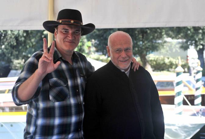 Quentin Tarantino e Marco Muller