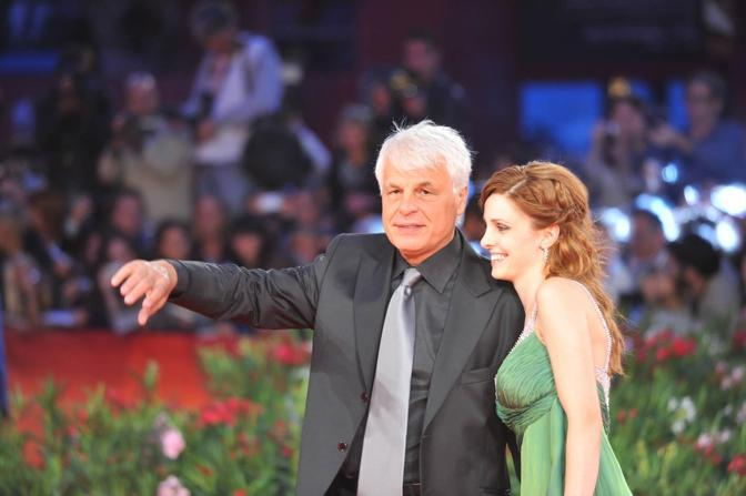 Michele Placido e la moglie