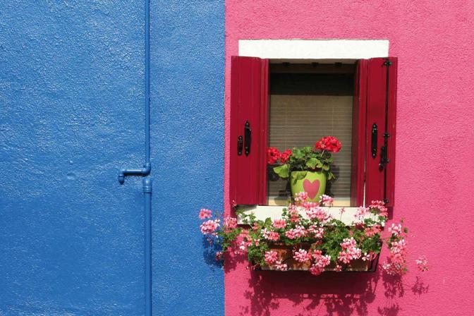L'arcobaleno urbano di Burano, l'isola del colore! Burano (VE)