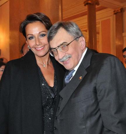 Cesare De Michelis e Anna Kanakis