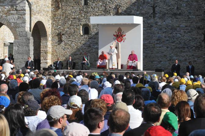 Il Papa ad Aquileia