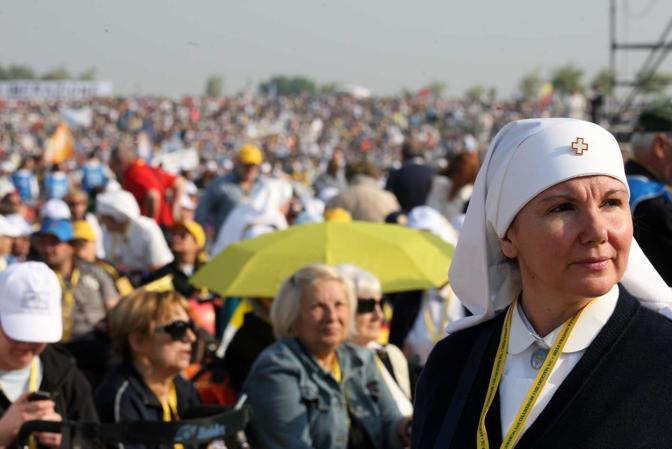 La messa di Papa Benedetto XVI