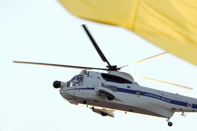 L'elicottero del Santo Padre