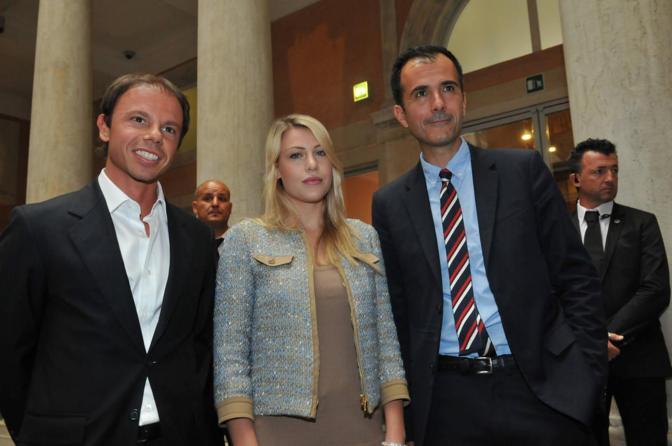 Barbara Berlusconi con Martin Bethenod e Cardi (Marco Sabadin/Vision)