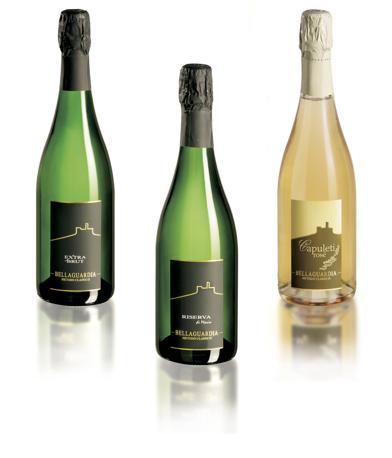 Le bottiglie proposte dall'azienda Bellaguardia