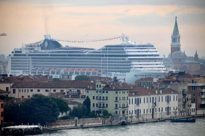 Grandi navi laguna venezia