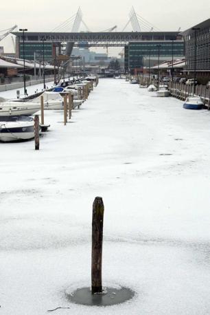 Il canal Salso ghiacciato (Errebi)