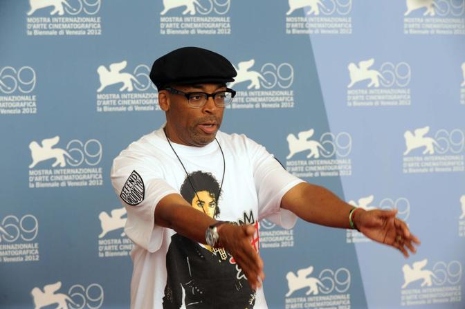 Spike Lee premio Le coultre con il figlio Jackson