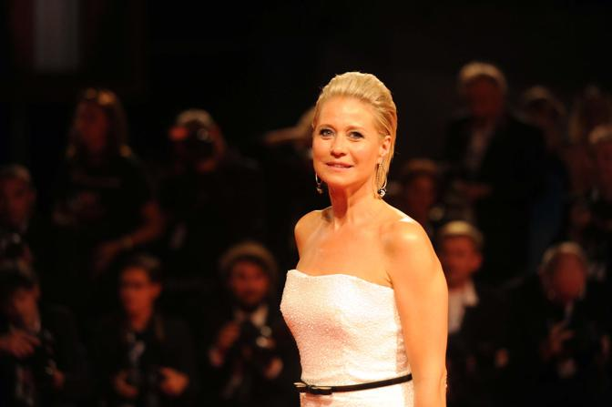 Premiere del film Love is all you need Trine Dyrholm