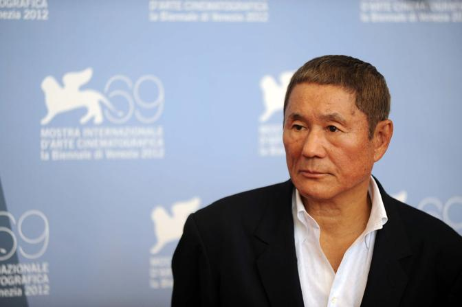 Takeshi Kitano presenta il film in concorso Outrage Beyond