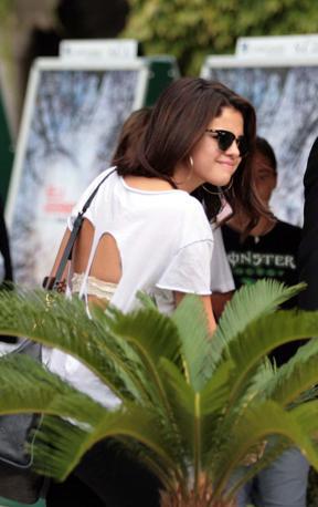 L'arrivo di Selena Gomez